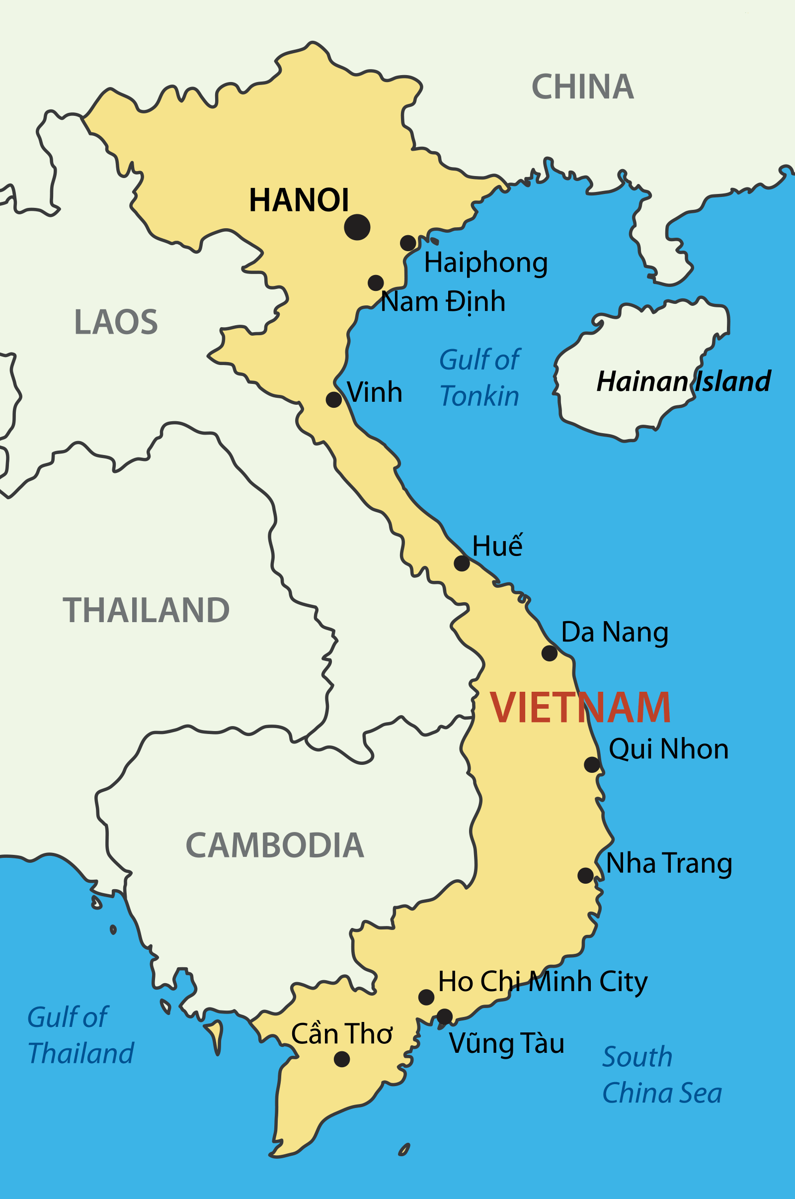 Western Australia Vietnam Business Council The Aim Of The - Map of western australia with cities